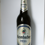 Krombacher Hell Gluten Test