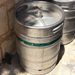 Cretan Beer Heineken Barrel