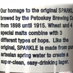 Petoskey Sparkle Gluten Test